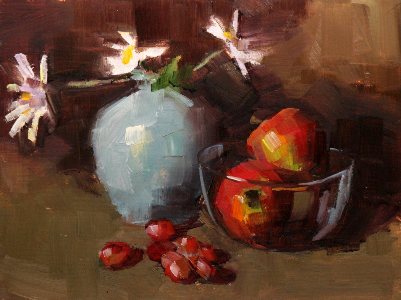 """""""daisy"""" original fine art by Carol Carmichael"""