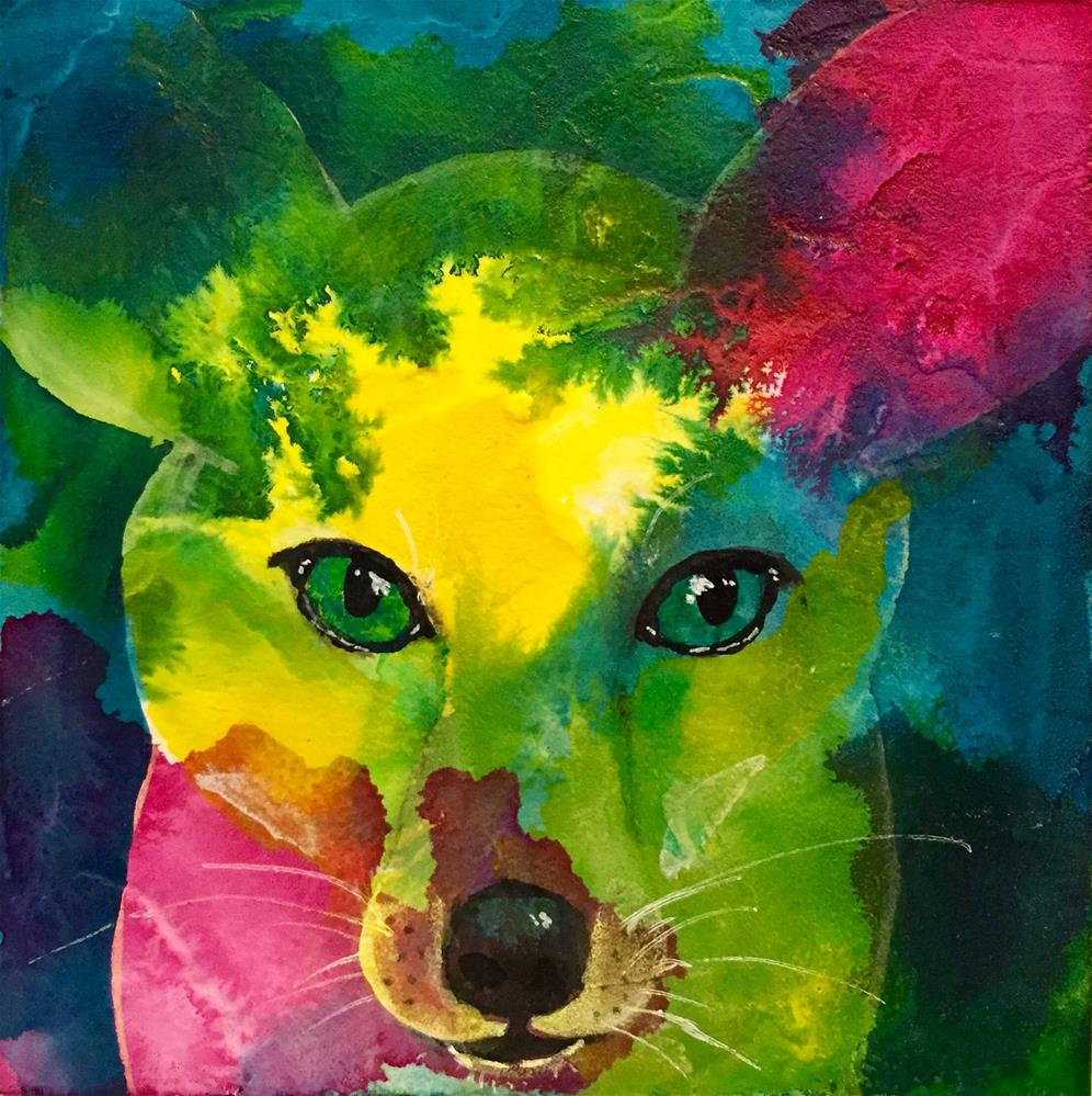 """#53 Loyal Friend"" original fine art by Silke Powers"