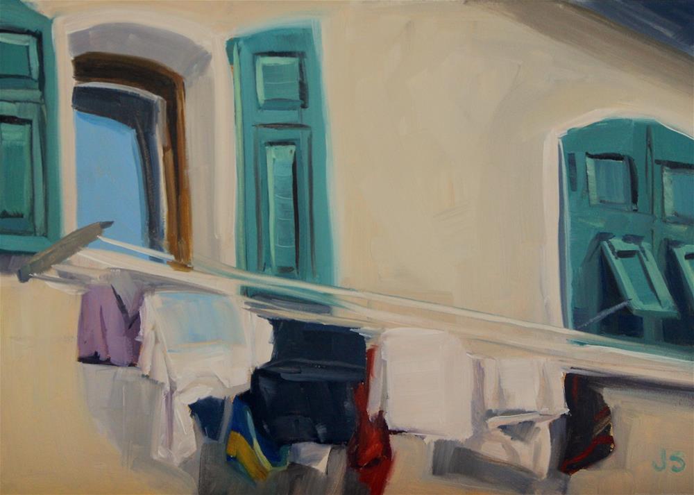 """Hanging Free"" original fine art by Jamie Stevens"