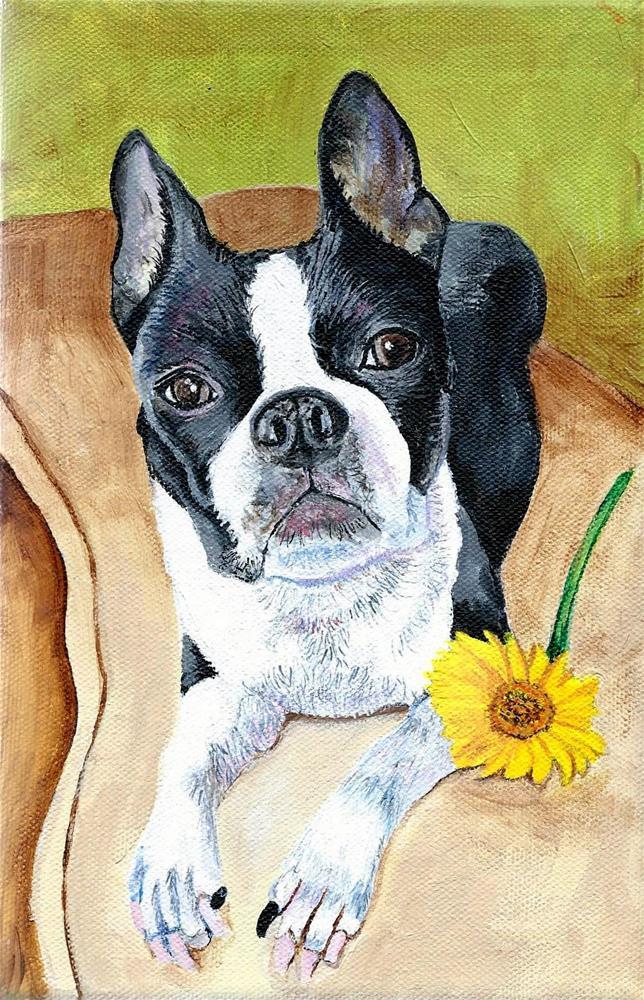 """""""Daisy"""" original fine art by Lisa Wiertel"""