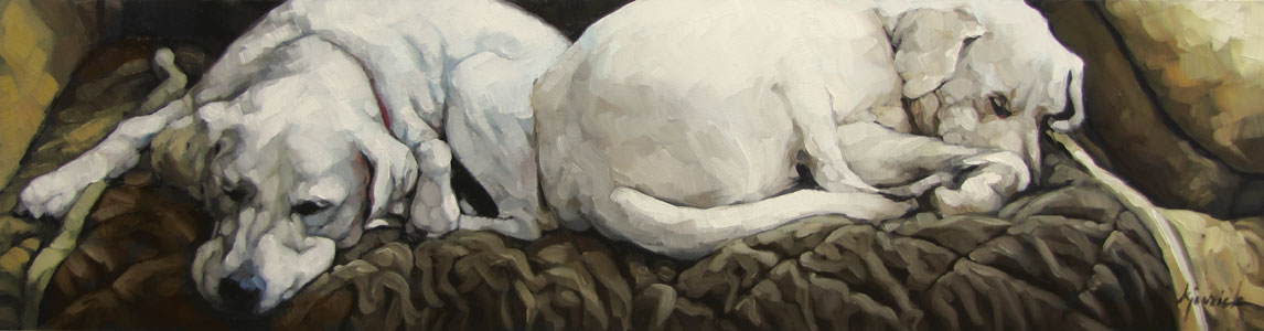 """Blanket Coverage"" original fine art by Karin Jurick"