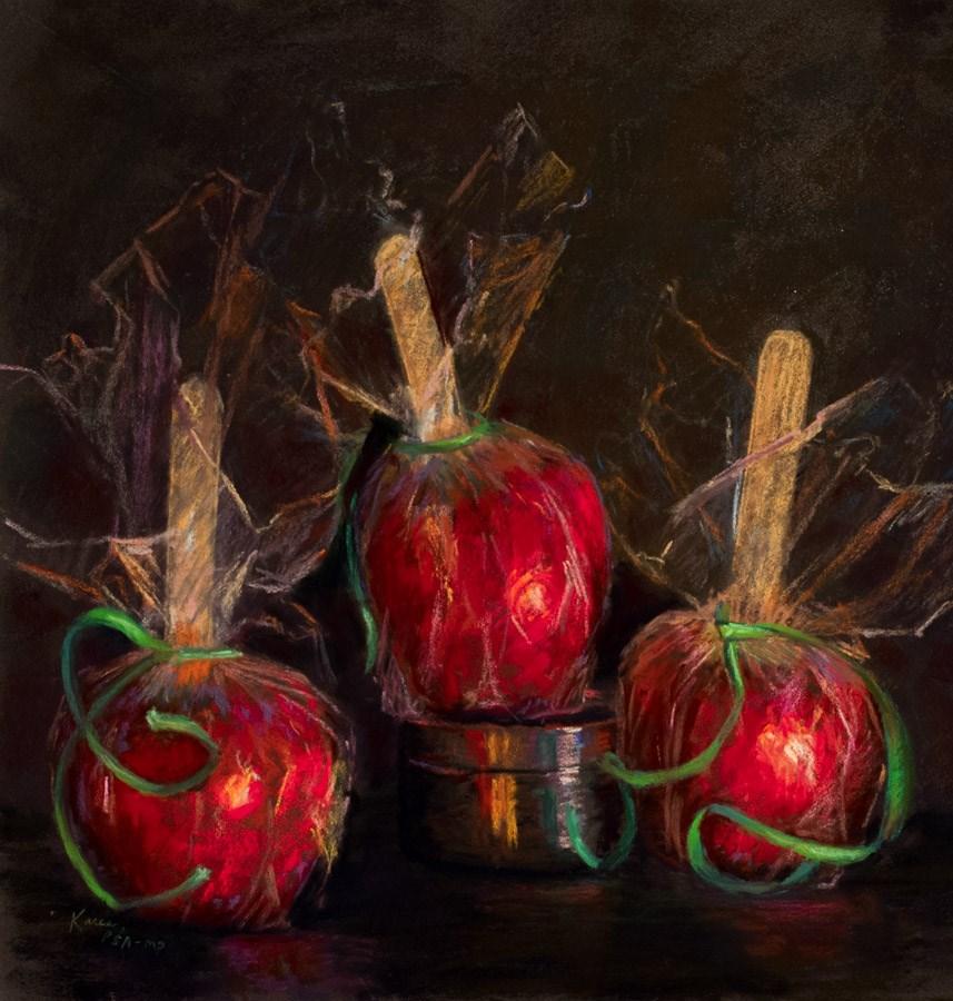 """Danse De Trois"" original fine art by karen israel"