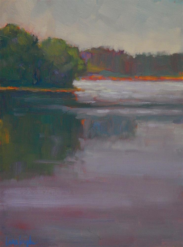 """Evening's Hues"" original fine art by Lisa Kyle"