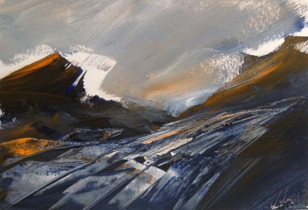 """Rising"" original fine art by David Kuhn"