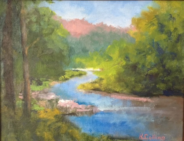 """Laurel Fork"" original fine art by Kathy Collins"