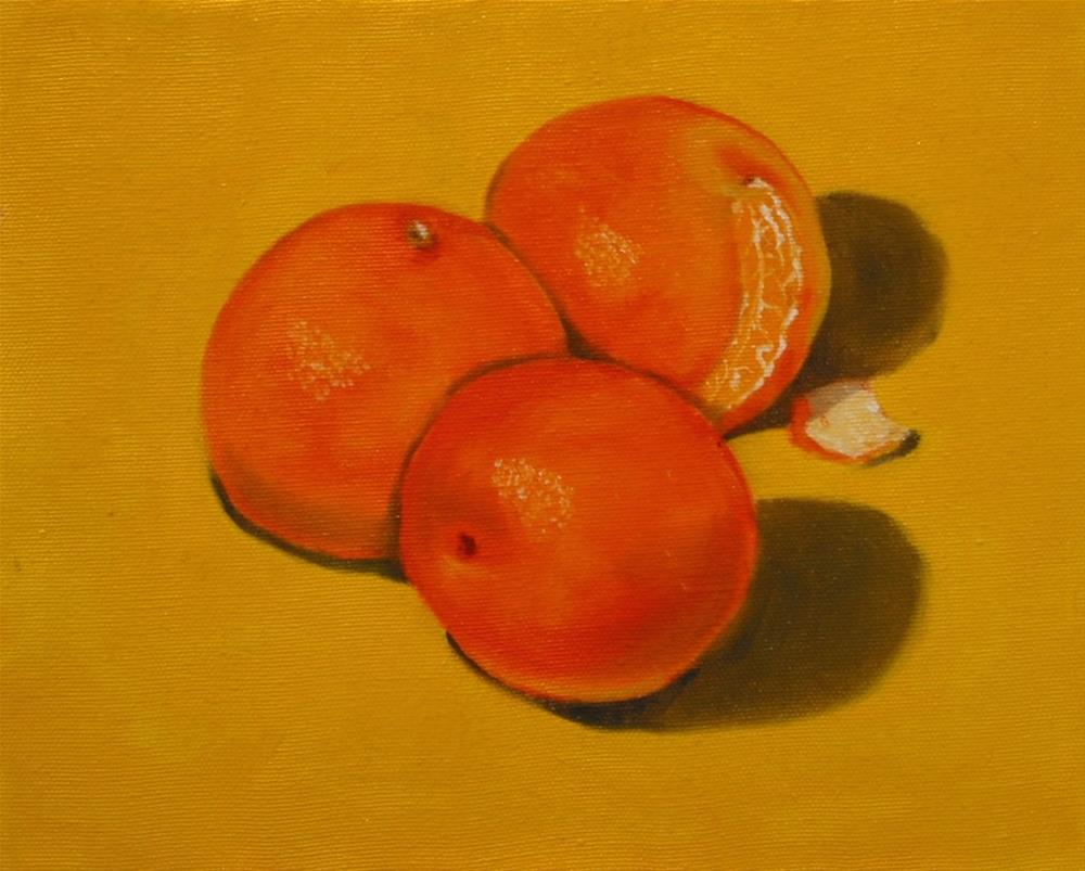 """Tangerine Tango"" original fine art by Patricia Murray"