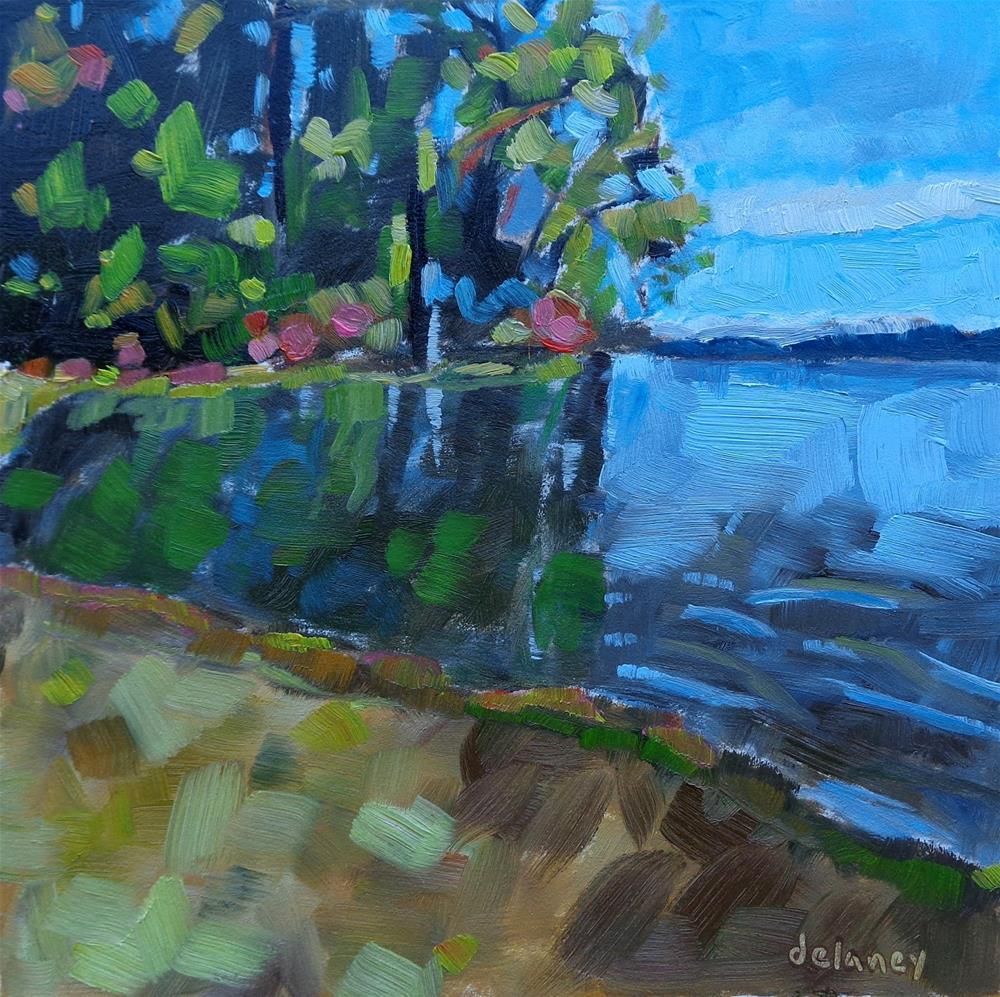 """B.C. MOMENT"" original fine art by Jean Delaney"