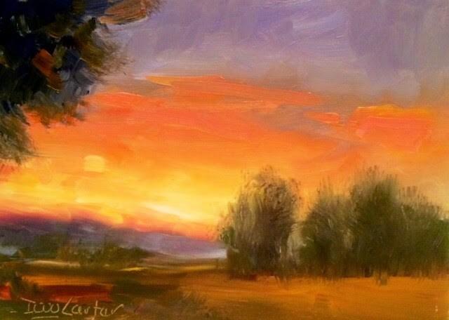 """HOPEFUL"" original fine art by Doug Carter"