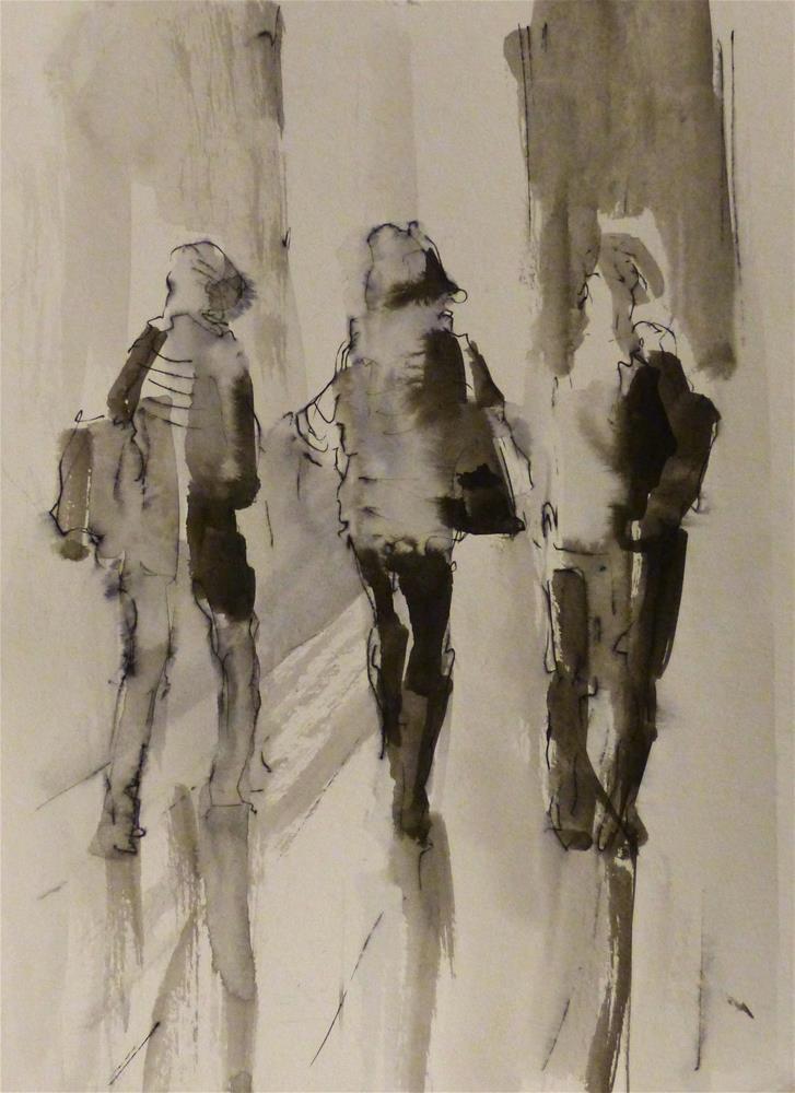 """urban3"" original fine art by Katya Minkina"