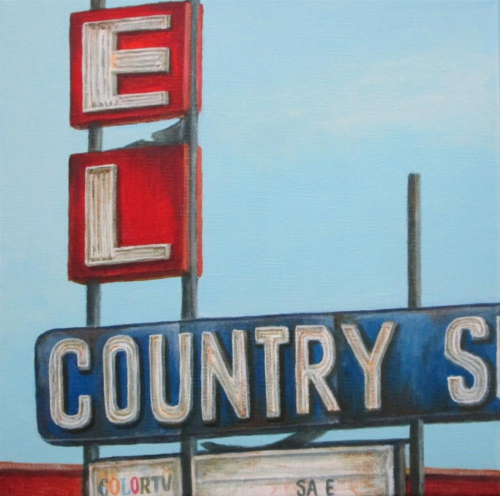 """El Country"" original fine art by Debbie Shirley"