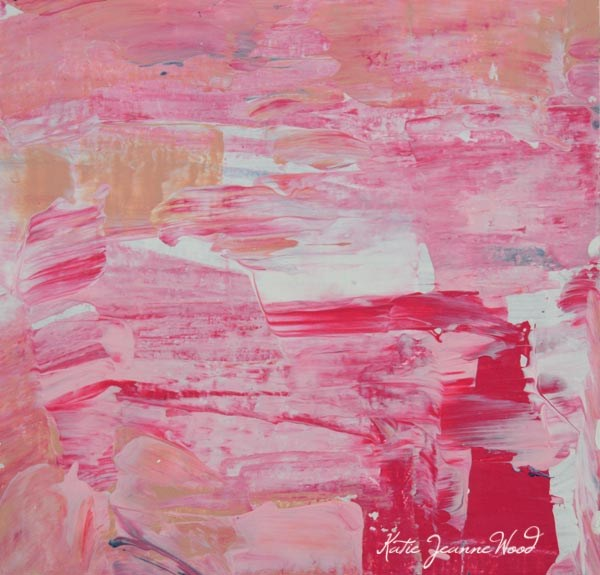 """Abstract No 63"" original fine art by Katie Jeanne Wood"