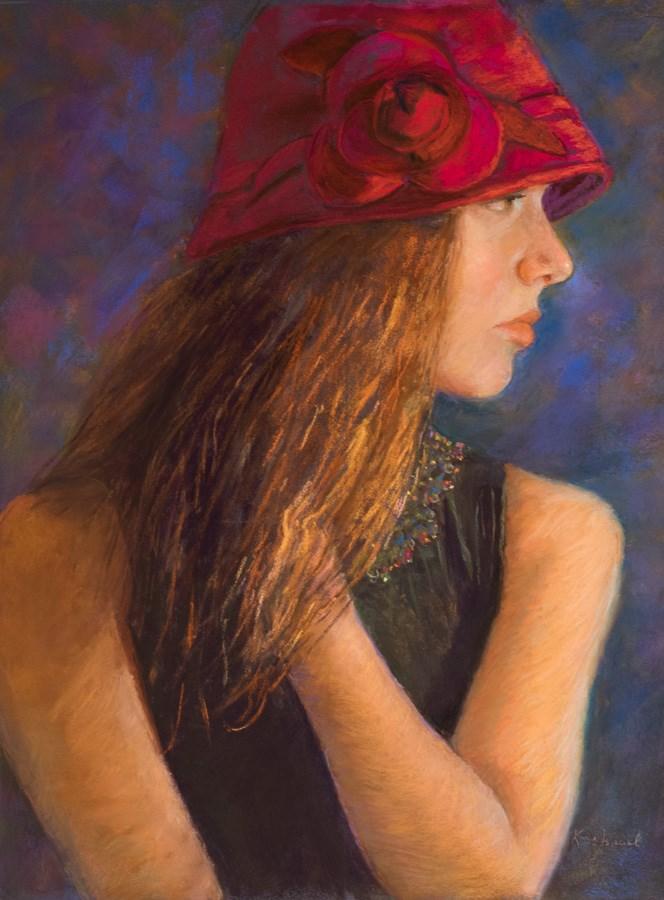 """Parting Glance"" original fine art by karen israel"