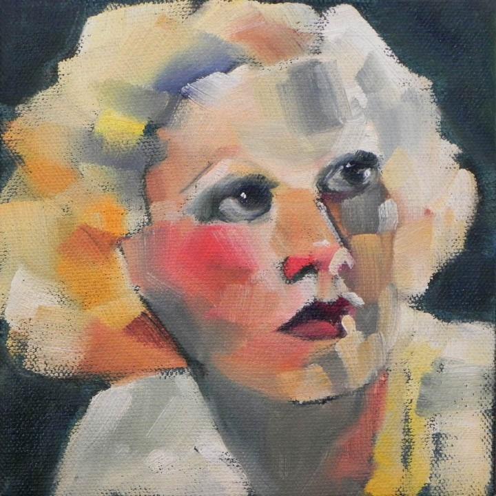 """Harlow 1"" original fine art by Cheryl Wilson"