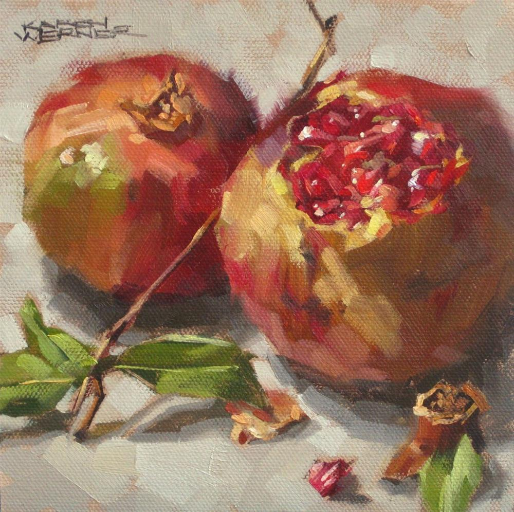 """Seeds"" original fine art by Karen Werner"