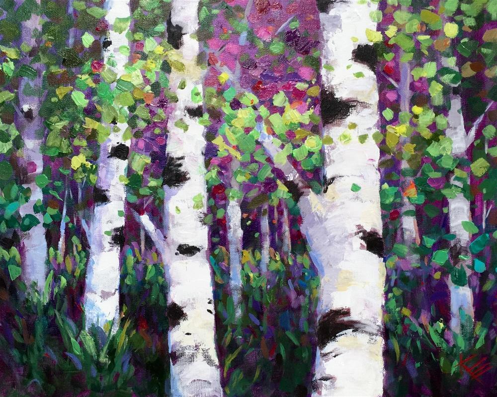 """Early one Autumn"" original fine art by Krista Eaton"