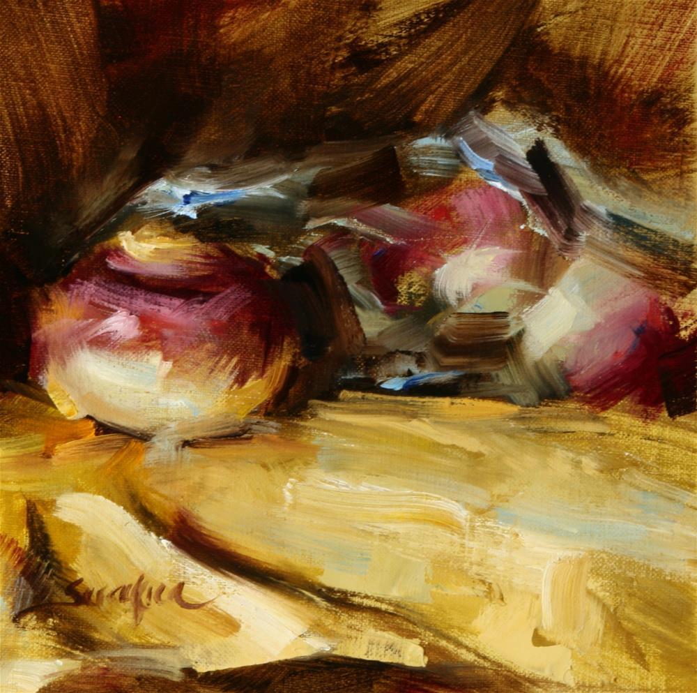"""Out of the Bag"" original fine art by Scott Serafica"
