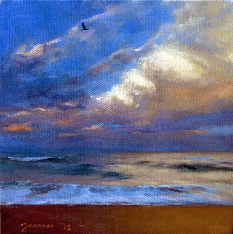 """Through the Storm"" original fine art by Joanna Bingham"