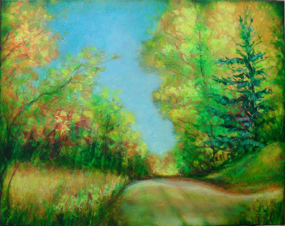 """Almost Home"" original fine art by Karen Roncari"