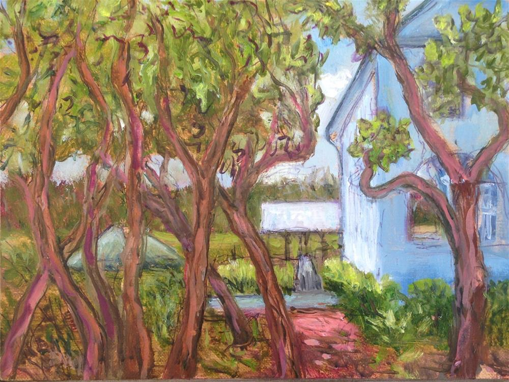 """VIEW FROM PAWLEYS PELICAN"" original fine art by barbara yongue"