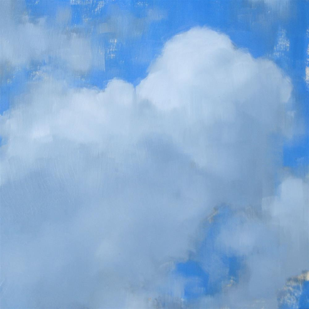 """Cumulus Cloud (no.76)"" original fine art by Michael William"
