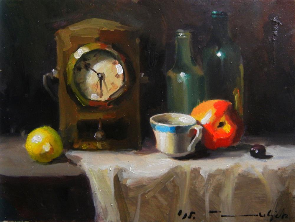 """Table"" original fine art by Dragan Culjak"
