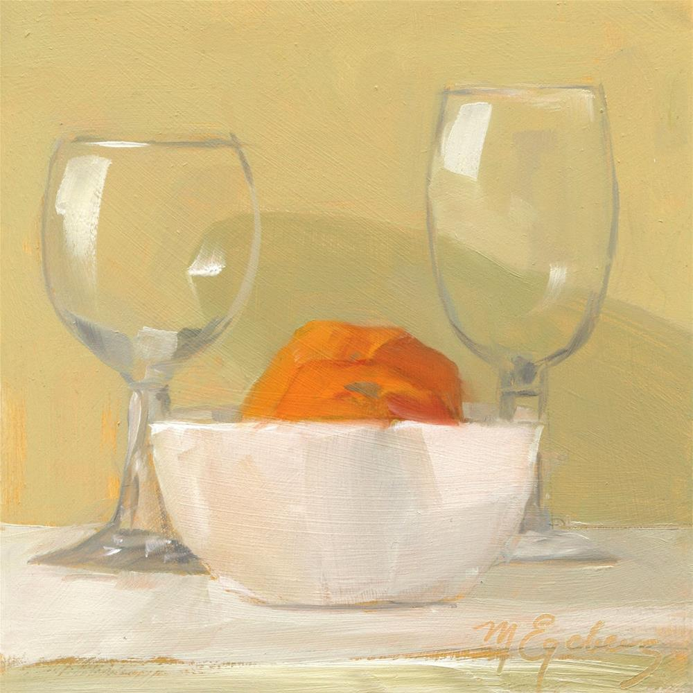 """Empty Glasses"" original fine art by Mitch Egeberg"