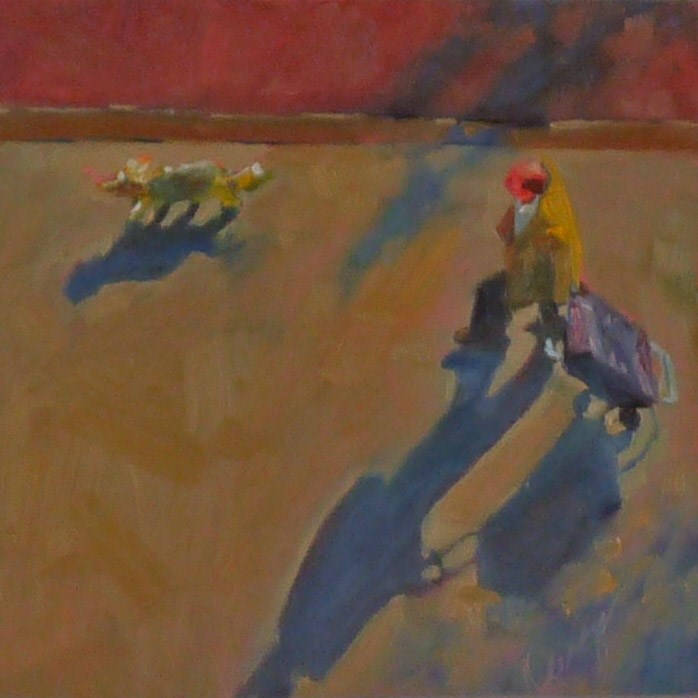 """Carry-On"" original fine art by Sharman Owings"