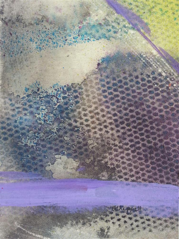 """Lavender"" original fine art by Becky Chappell"