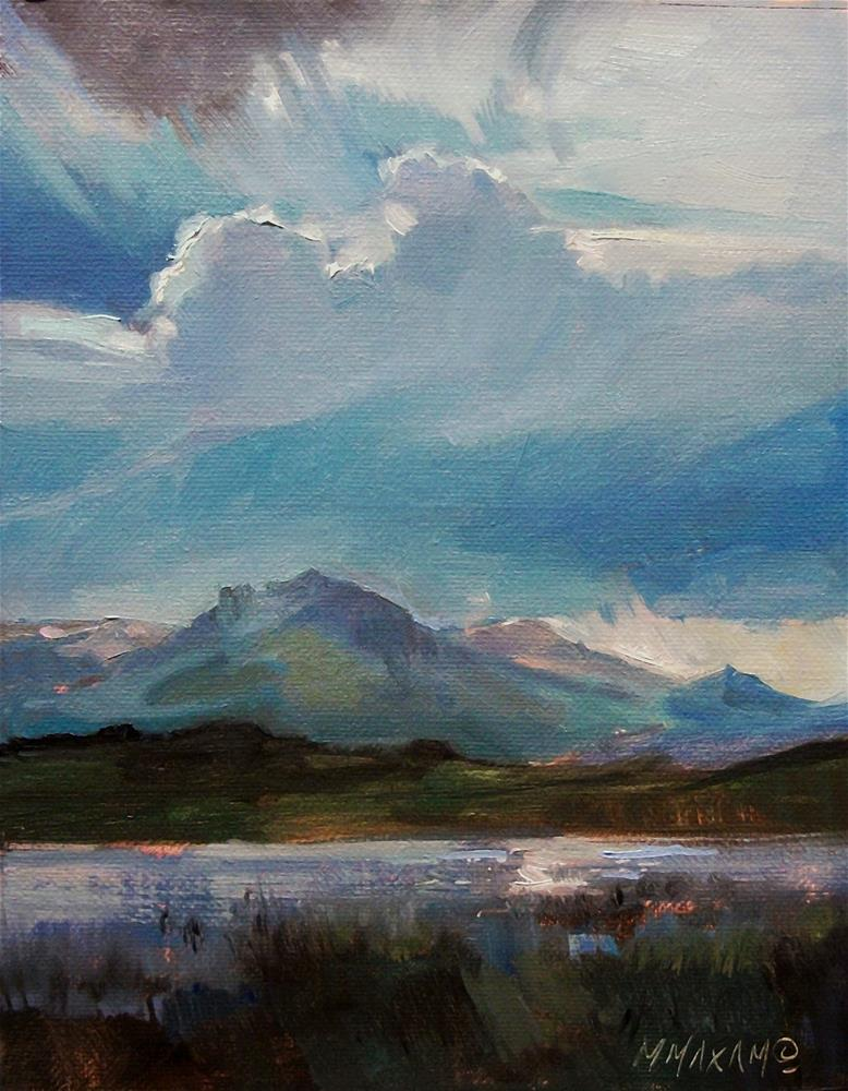 """After The Storm"" original fine art by Mary Maxam"