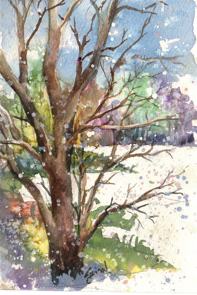 """""""Dark Beauty"""" original fine art by Sue Dion"""