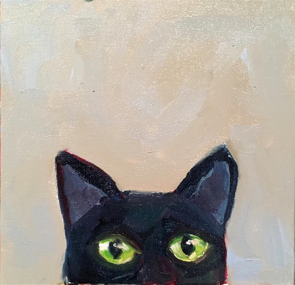 """Whatcha Doin'?"" original fine art by Marcia Bergtholdt"