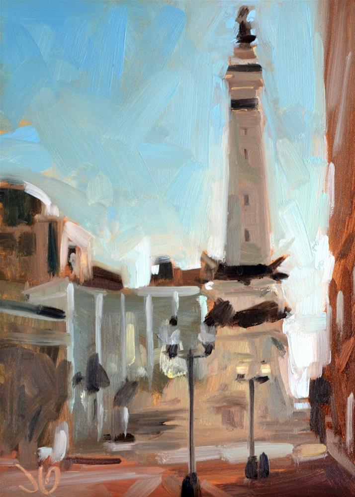 """Indianapolis Study"" original fine art by Jessica Green"