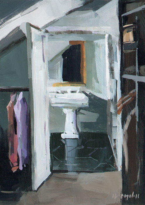 """Sink"" original fine art by David Lloyd"