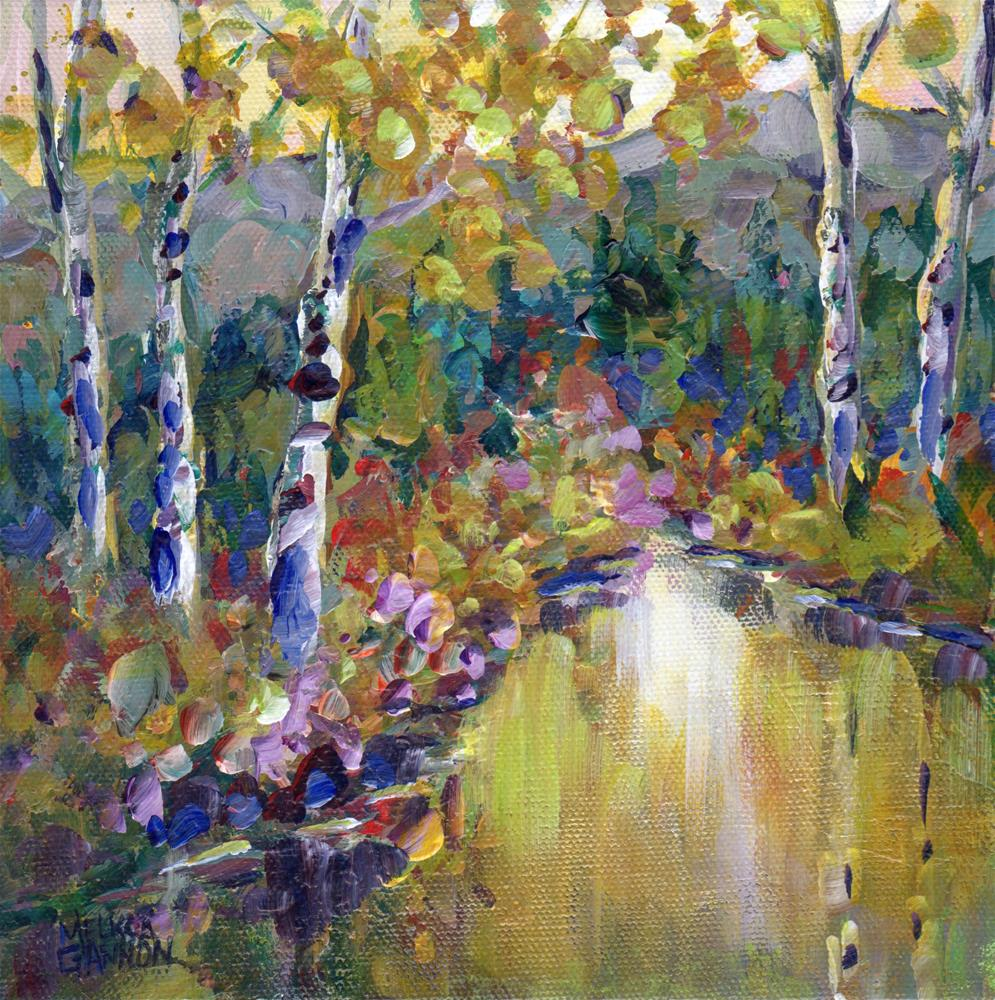 """Lyrical Woods"" original fine art by Melissa Gannon"