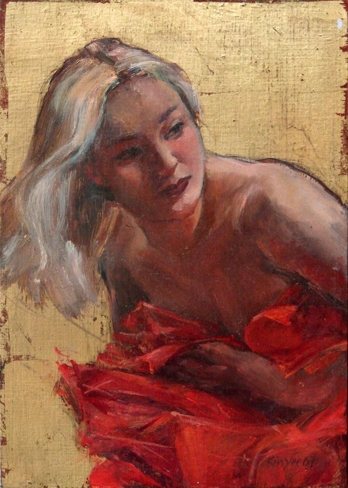 """""""Venus Rising"""" original fine art by Myriam Kin-Yee"""