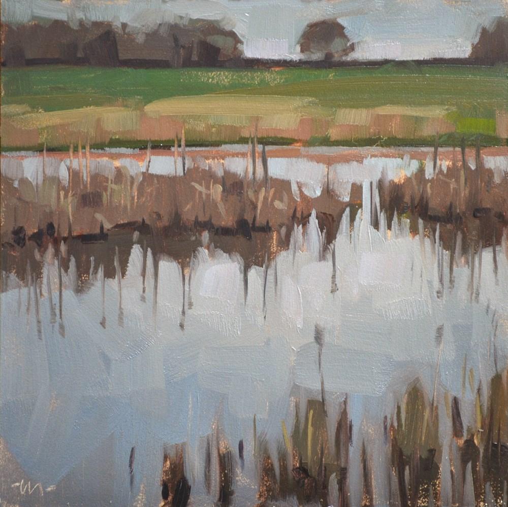 """Goose Pit Stop"" original fine art by Carol Marine"