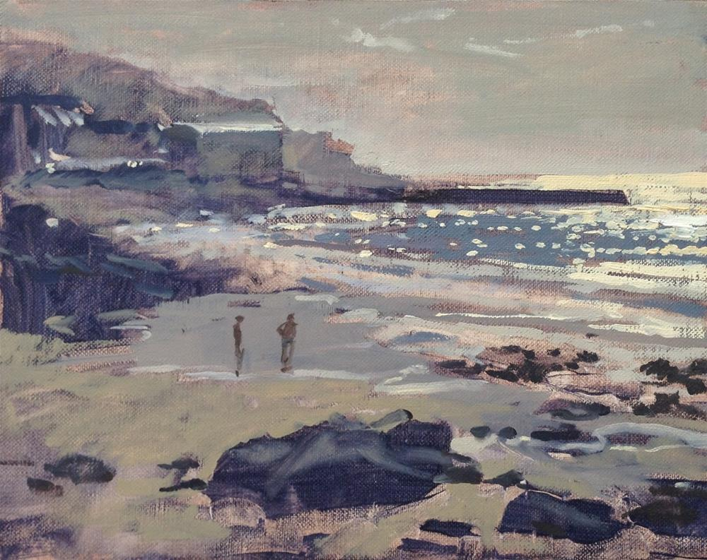 """Sennen cove and new website"" original fine art by Haidee-Jo Summers"