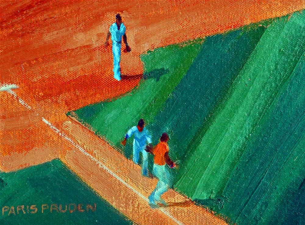 """Let's Go Astros!"" original fine art by Nancy Paris Pruden"