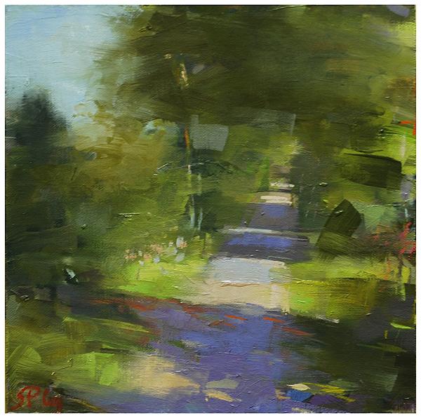 """""""The causeway (2)"""" original fine art by Steven Goodman"""