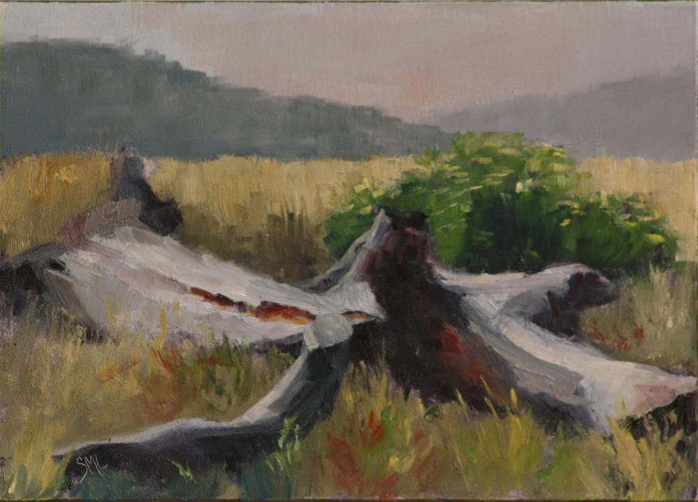 """The Remains"" original fine art by Sheila Marie"