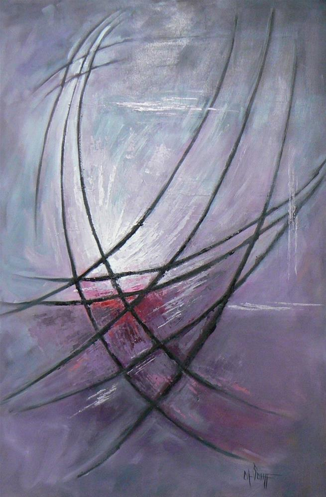 """Abstract Art, SOAR, 24x36 Original Mixed Media"" original fine art by Carol Schiff"