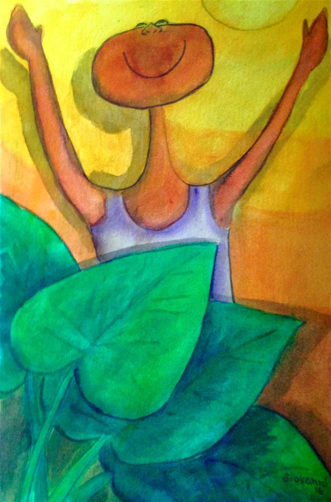 """A New Day"" original fine art by Giovanni Antunez"