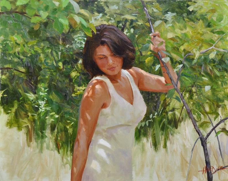 """Summer Shadows"" original fine art by Scott Harding"