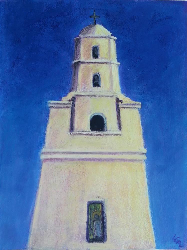 """""""Evening Bells"""" original fine art by Anna Lisa Leal"""