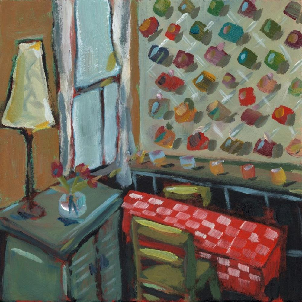"""Mug Rack (#365)"" original fine art by Brian Miller"