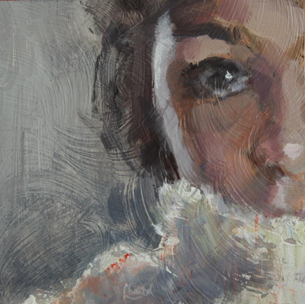 """Warmth"" original fine art by Chantel Barber"
