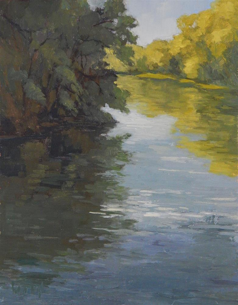"""""""Evening Light"""" original fine art by Lisa Kyle"""