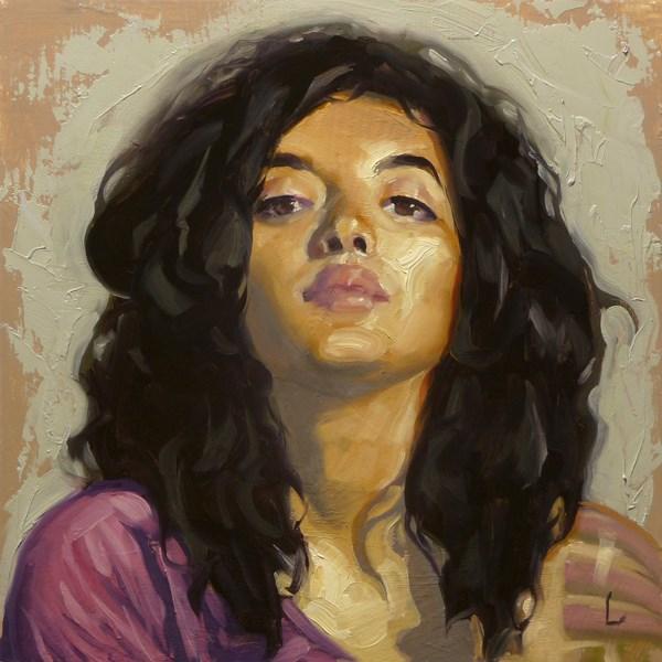 """Rising"" original fine art by John Larriva"