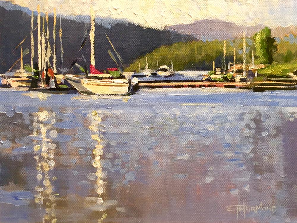 """Payette Lake"" original fine art by Zack Thurmond"