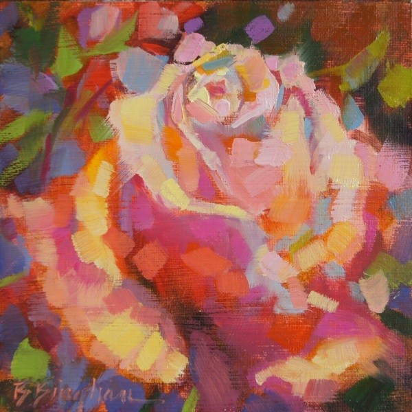 """Blooming Color"" original fine art by Bruce Bingham"
